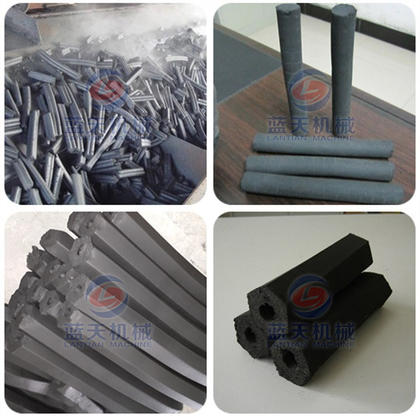 charcoal briquette extruder equipment