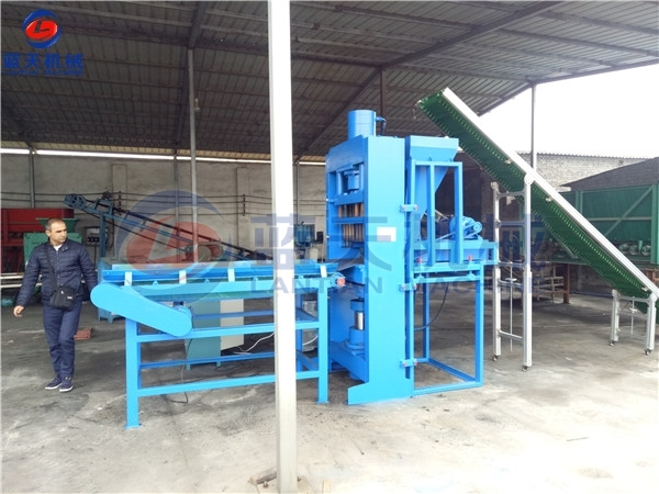 Coconut Shell Charcoal Briquette Making Machine