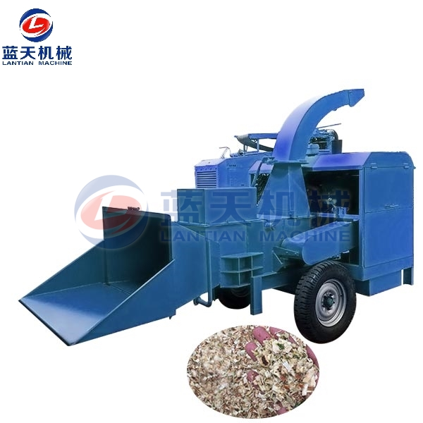 Wood Branch Crusher Machine