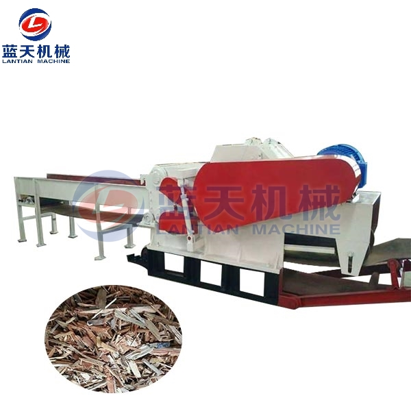 Wood Pallet Crusher Machine
